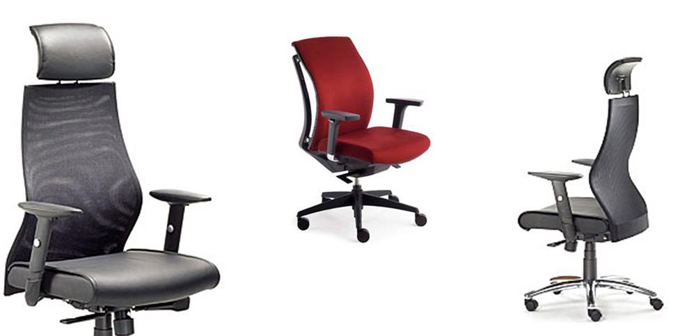 Bequeme Bürostühle in vielen Farben