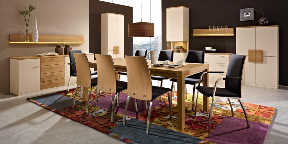 Möbel für die Gäste - hier lässt sich tafeln