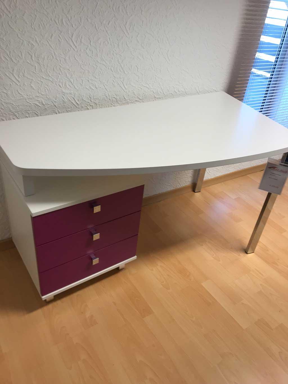 Schreibtisch Freiformplatte