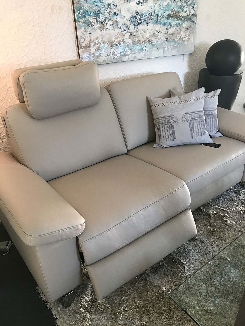 Polstersofa Dickleder CairoPlus