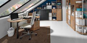 Bürostuhl, weiß