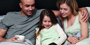 Gesundes Liegen für die ganze Familie