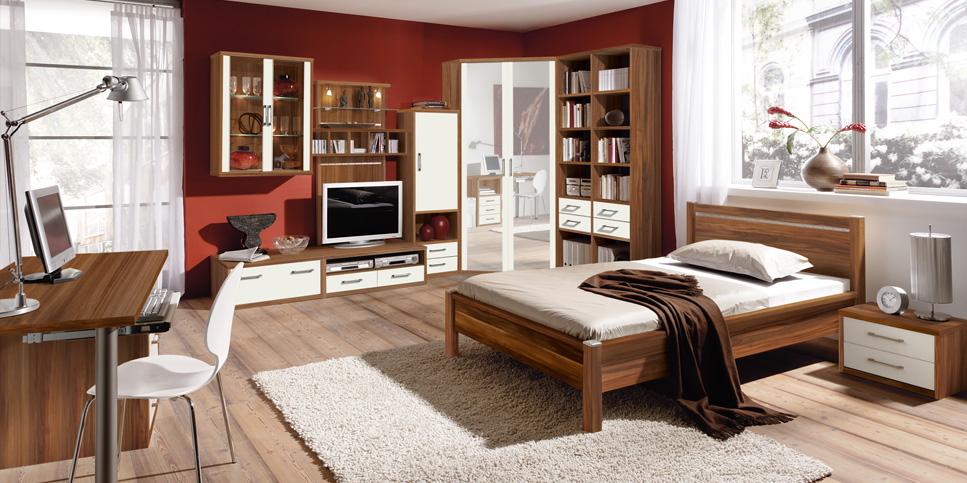 Moderne Schlafzimmer-Einrichtung / Holzmöbel