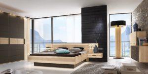 Moderne Schlafzimmer-Einrichtung