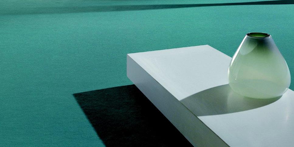 Teppichböden Design in Türkis